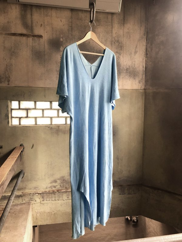 cloud blue kaftan