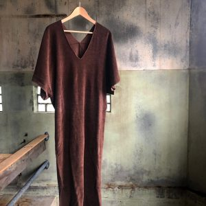 chocolate brown kaftan